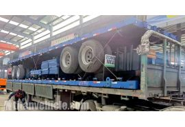 2 Axle Sideboard Trailer will be sent to Nigeria Abuja
