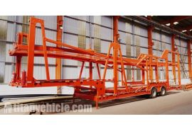 2 Axle Car Carrier Trailer will be sent to Djibouti
