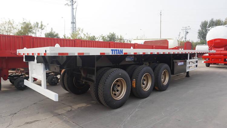 Flatbed Trailer Manufacturers in Mauritius - TITAN Vehicle