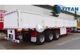 Multi types of sidewall cargo trailer
