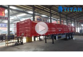 Grain side wall trailer